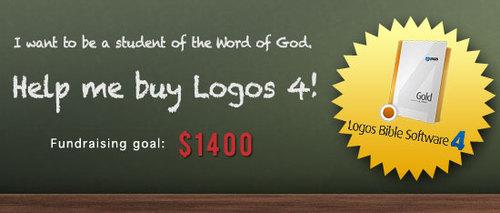Help Josh buy Logos Bible Software 4.0